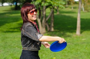 Frolf in the Park